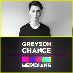 Greyson Chance Debuts Lyric Video For 'Meridians' - Watch Now!