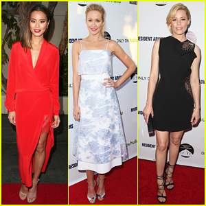 Jamie Chung Is Red Hot for 'Resident Advisors' L.A Premiere!