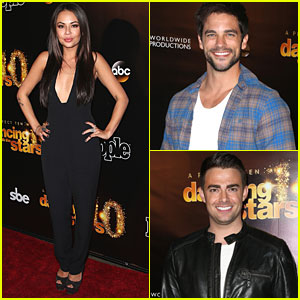 Janel Parrish Celebrates DWTS' Anniversary with Jonathan Bennett & Brant Daugherty