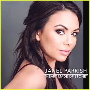 Janel Parrish Drops Debut Single 'Heart Made Of Stone' - Listen Here!