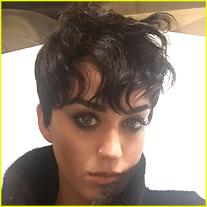 Katy Perry Shows Off Shorter Hair on April Fools' Day