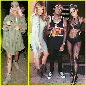 Kylie Jenner Had Pink Hair This Weekend at Coachella!