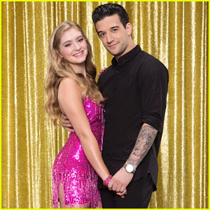 Willow Shields & Mark Ballas Rock the Salsa for 'Dancing With the Stars'