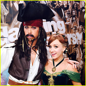 Nastia Liukin Poses With Jack Sparrow - We Mean Riker Lynch - in Exclusive 'DWTS' Photo Blog! (Week 5)
