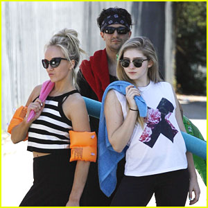 Nastia Liukin, Willow Shields & DWTS' Team YOLO Look Ready For the Beach!