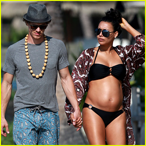 Naya Rivera Puts Her Baby Bump on Display in a Bikini!