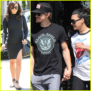 Naya Rivera Embraces Her Small Baby Bump With Latest Style Choices