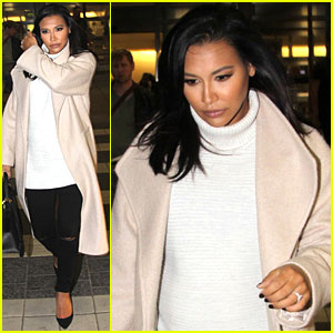Naya Rivera Arrives In D.C. Ahead of White House Correspondent's Dinner