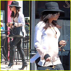 Pregnant Naya Rivera Does 'Shameless' Promotion For Hubby Ryan Dorsey