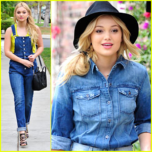 Olivia Holt Is A Denim Darling Ahead of theRDMAs