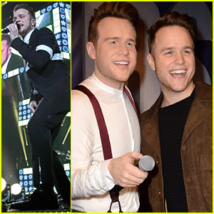 Olly Murs Checks Out New Wax Figure Before 'Never Been Better' Tour Kick Off