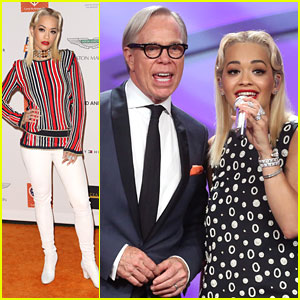 Rita Ora Performs At Race To Erase MS Gala With Tommy Hilfiger