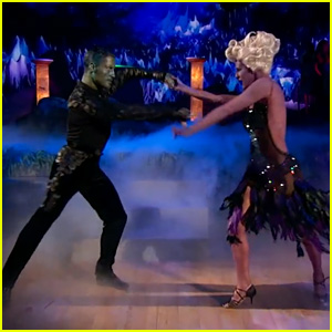 Rumer Willis & Val Chmerkovskiy Do a Disney Samba on 'DWTS' - Watch Now!