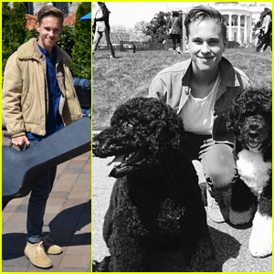 Ryan Beatty Meets the Presidential Pups at White House Easter Egg Roll 2015