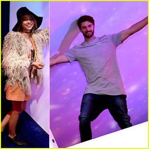 Patrick Schwarzenegger Conquers The H&M Loves Coachella Party With Sarah Hyland - See Pics!
