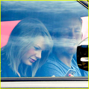 Taylor Swift Shares Cute Moment in Car with Calvin Harris!