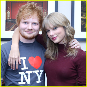 Ed Sheeran Gives His Seal of Approval to Taylor Swift & Calvin Harris (Video)