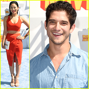 Arden Cho Is Red Hot At MTV Movie Awards 2015 With Tyler Posey