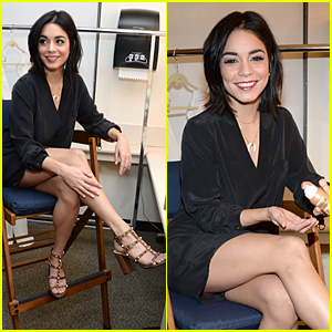 Vanessa Hudgens' Legs Look Amazing Before ABC Studios Interview
