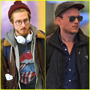 Wentworth Miller & Arthur Darvill Arrive in Vancouver For 'Flash/Arrow' Spinoff