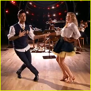 Willow Shields & Mark Ballas Rock the Salsa for 'Dancing With the Stars' - Watch Now!