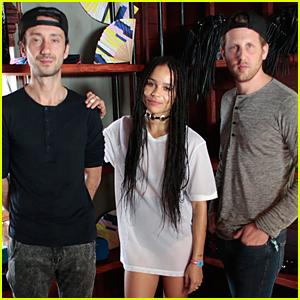 Zoe Kravitz Hosts Sandro x Yoko Honda Coachella Brunch With Lolawolf