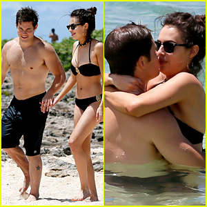Chloe Bridges Shows PDA with Boyfriend Adam DeVine in Hawaii!