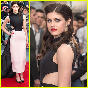 Alexandra Daddario Gets Edgy For 'San Andreas' World Premie
