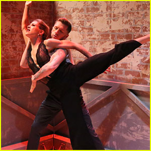 Allison Holker Reunites with Travis Wall For Shaping Sound Performance on 'DWTS' - Watch Here!