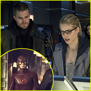 Team Arrow Gets Some Help From The Flash On Tonight's 'Arrow' Season Finale