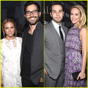Anna Camp & Brittany Snow Make It A 'Pitch Perfect 2' Date Night at Elle's