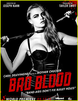 Cara Delevingne Joins Taylor Swift's 'Bad Blood' Video!