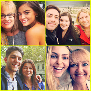 Justin Bieber, Becky G, Lucy Hale, Allison Holker & More Share Sweet Happy Mother's Day Messages