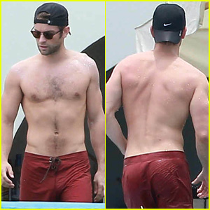 Chace Crawford Flaunts His Hot Body Poolside