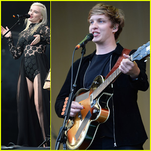 Clean Bandit & George Ezra Play at Radio 1's Big Weekend!