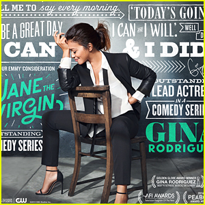 Gina Rodriguez's 'I Can & I Will' Words Feed 'Jane The Virgin' Emmy Campaign