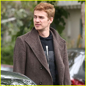 Hayden Christensen is One Handsome Dad Hanging Out at a Friends