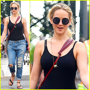 Jennifer Lawrence Takes 'X-Men' Break in New York