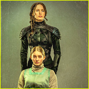 Jennifer Lawrence & Willow Shields Take Focus in 'Hunger Games' Portrait