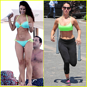 Jessica Lowndes Shows Off Her Fit Bikini Body in Cannes