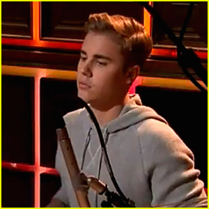 Justin Bieber Shows Off Drum Skills on 'Late Late Show with James Corden' - Watch Now!