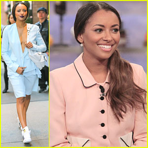 Kat Graham Sends Love To Fans While Out in NYC