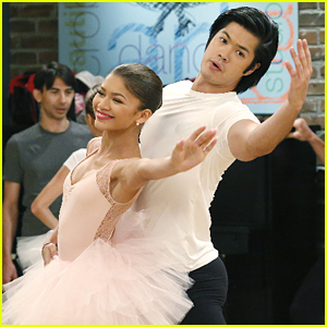 Ross Butler Takes Ballet With Zendaya In New 'K.C. Undercover'!