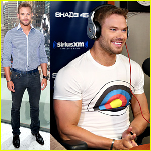 Kellan Lutz Wears the 'Bullseye' Right on His Chest