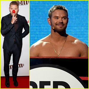Kellan Lutz Goes Shirtless for Charity!