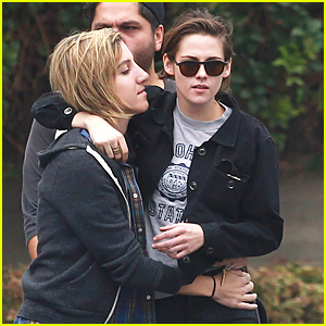 Kristen Stewart & Alicia Cargile Get Up Close & Personal on Memorial Day