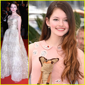 Mackenzie Foy Becomes A 'Little Prince'ss At Cannes Film Festi