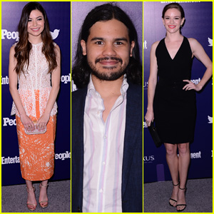 Miranda Cosgrove Joins 'The Flash' Stars at Upfronts Party in NYC