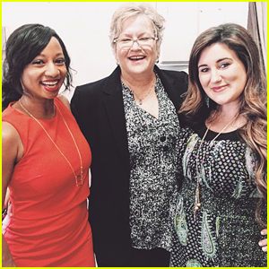 Monique Coleman & Kaycee Stroh Reunite To Support 'Ms. Darbus' Alyson Reed