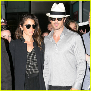 Ian Somerhalder & Nikki Reed Arrive For the Cannes Film Festival!